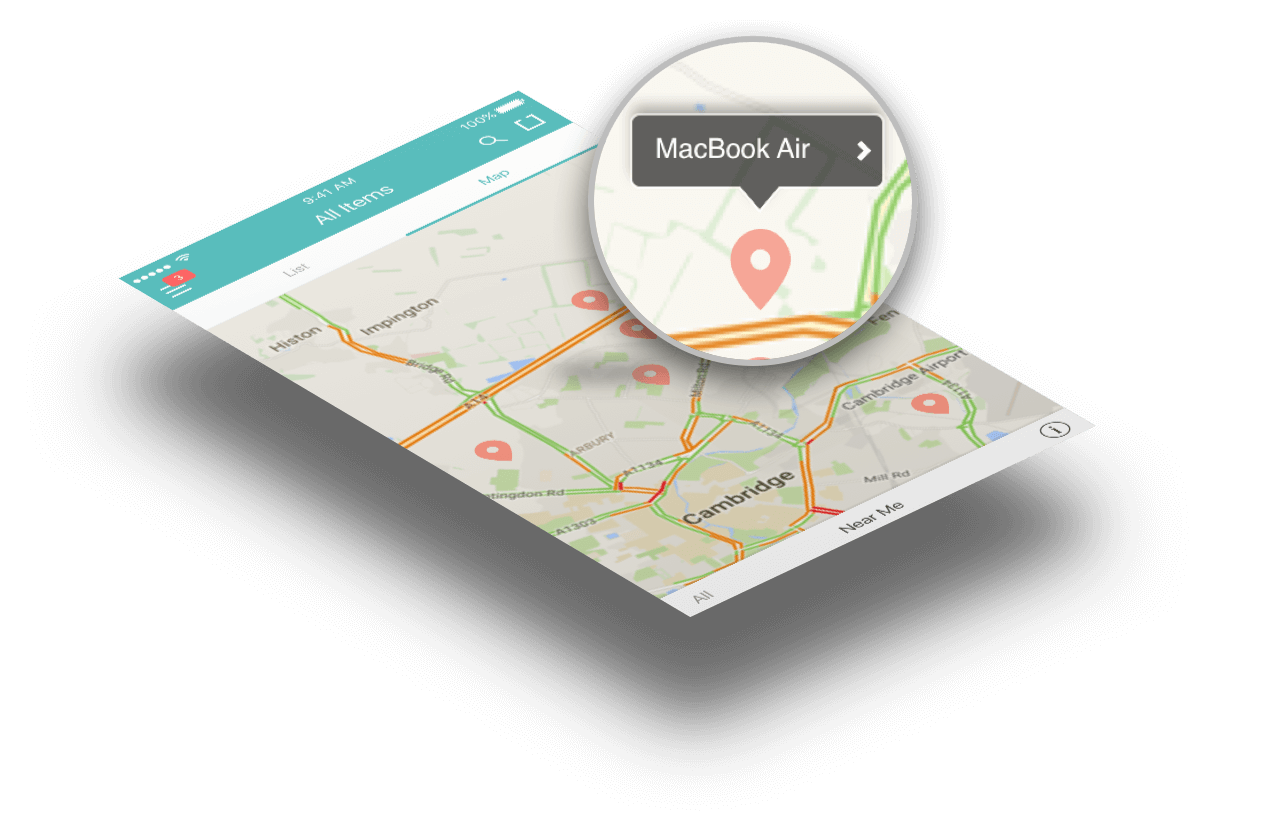 Home inventory software - QR GPS asset tracking