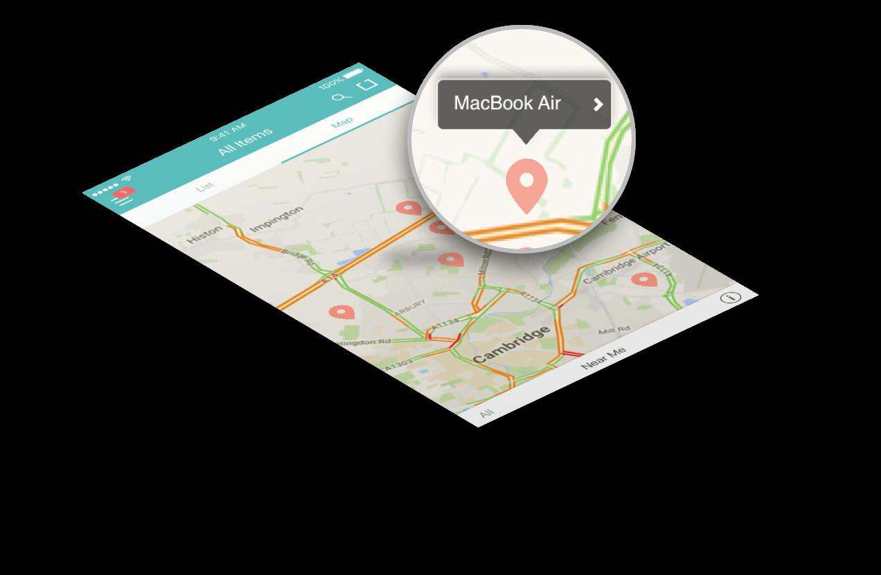 QR RFID GPS asset tracking app