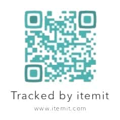 QR code asset tag