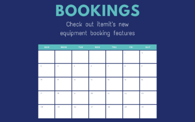 Introducing itemit's new equipment booking solution