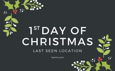 1st Day of Christmas: Last Seen Location Feature