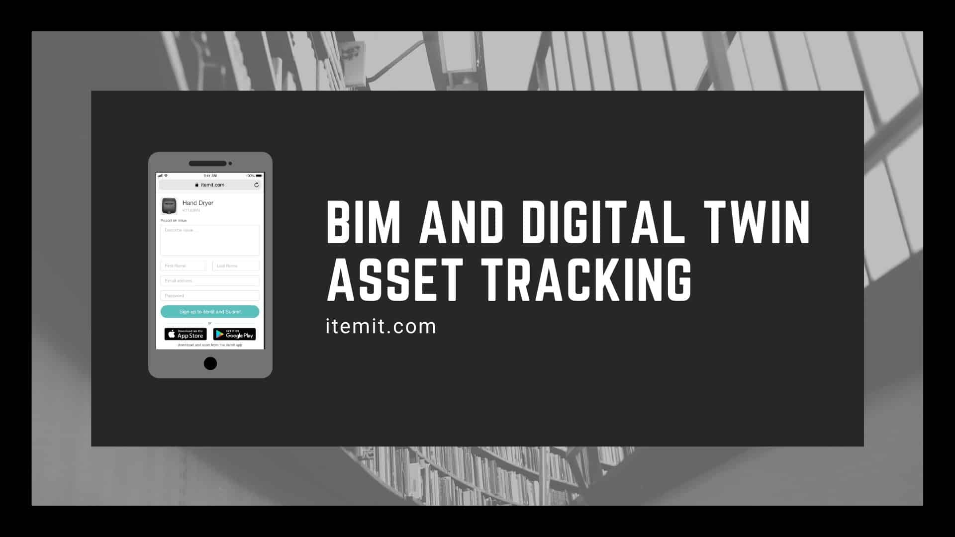 BIM and digital twin asset tracking