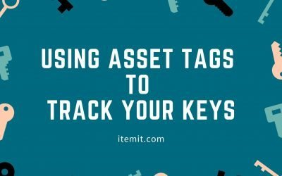 Using Asset Tags to Track your Keys