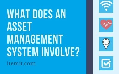 What does an asset management system involve?