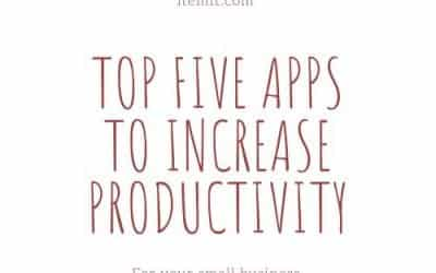 Top Five Apps to Increase Productivity