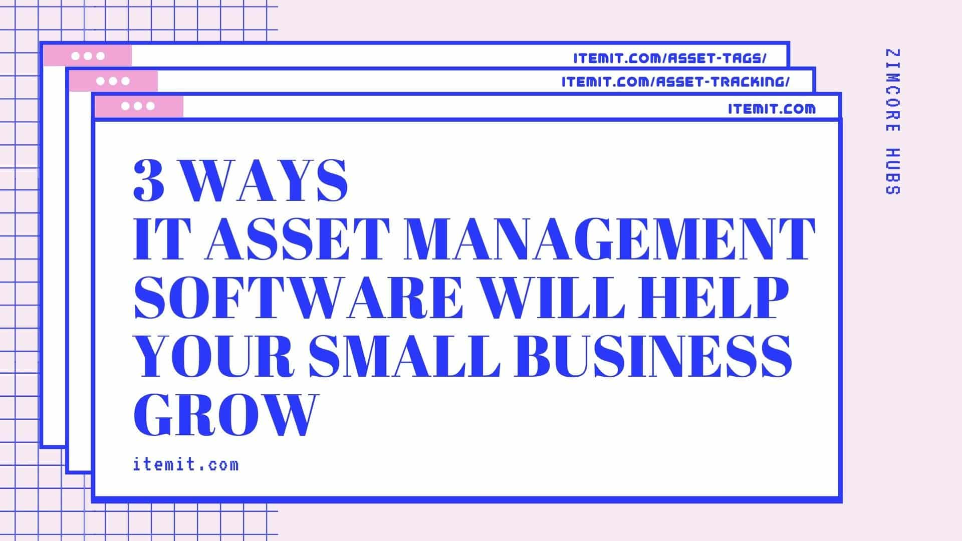 3 ways IT Asset Management Software Will Help Your Small Business Grow