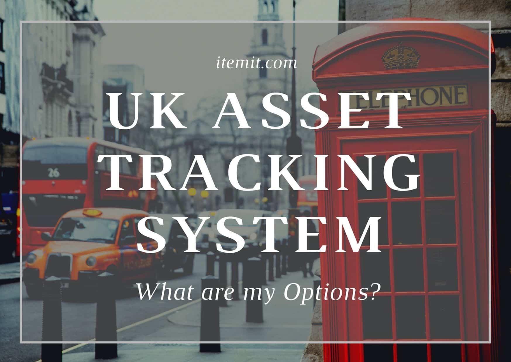 UK asset tracking system