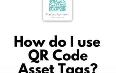How do I use qr code asset tags?