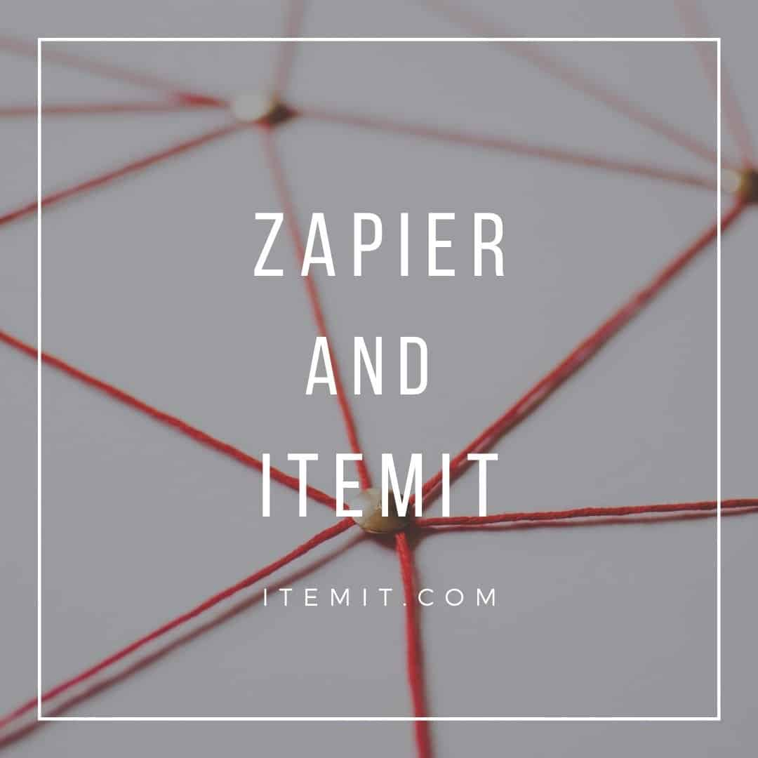 itemit asset tracking software and Zapier