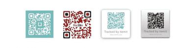 QR code asset tags