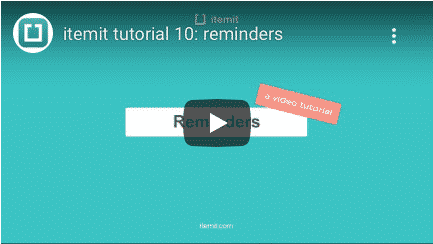 Using Reminders For Your Asset Tracking