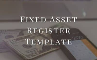 Fixed Asset Register Template