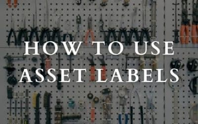 How To Use Asset Labels