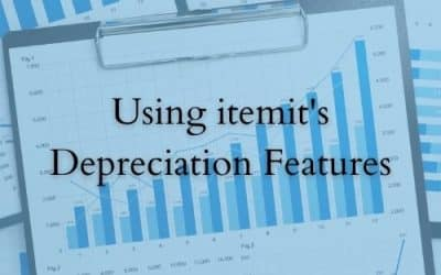 Using itemit's Depreciation Features