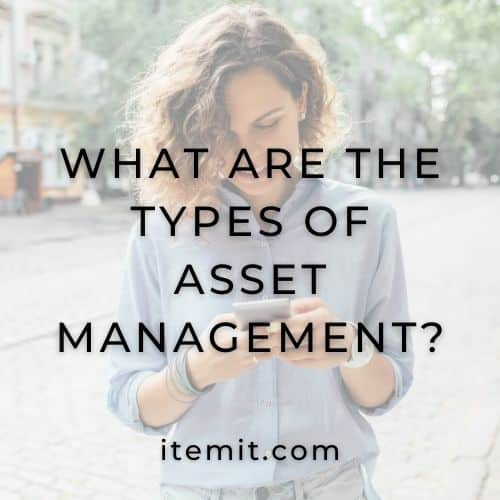 What Are The Types Of Asset Management?