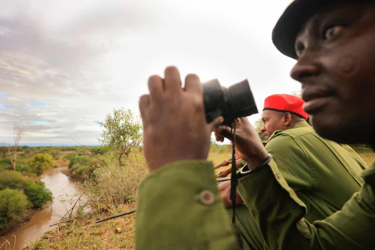 honeyguide conservation lookout team